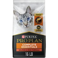 Purina Pro Plan Savor Adult Salmon & Rice Formula Dry Cat Food, 16-lb bag