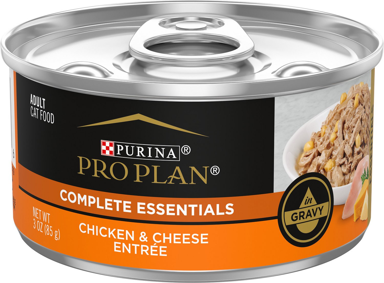 Purina Pro Plan Chicken & Cheese Entree in Gravy Canned