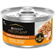Purina Pro Plan Savor Adult Chicken, Tomato & Pasta Entree in Gravy Canned Cat Food, 3-oz, case of 24