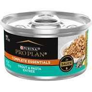 Purina Pro Plan Savor Adult Trout & Pasta Entree in Sauce Canned Cat Food, 3-oz, case of 24
