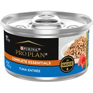 Purina Pro Plan Savor Adult Tuna Entree in Sauce Canned Cat Food, 3-oz, case of 24