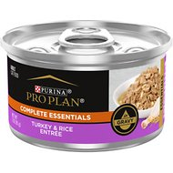Purina Pro Plan Savor Adult Turkey & Rice Entree in Gravy Canned Cat Food, 3-oz, case of 24