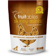 Fruitables Skinny Minis Rotisserie Chicken Flavor Soft & Chewy Dog Treats, 5-oz bag