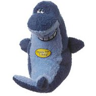 Multipet Deedle Dude Singing Plush Dog Toy, Shark