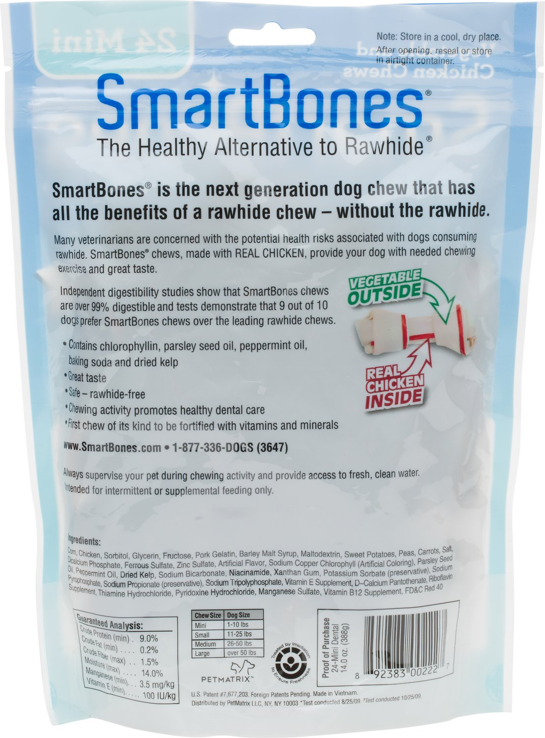 smartbones mini dental chew bones dog treats pack com smartbones mini dental chew bones dog treats