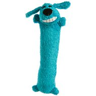 Multipet Loofa Dog The Original Plush Dog Toy, Small, Color Varies