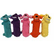 Multipet Loofa Floppy Water Bottle Buddies Dog Toy