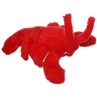 Multipet Look Who's Talking Lobster Plush Dog Toy