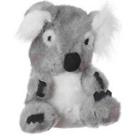Multipet Look Who's Talking Koala Bear Plush Dog Toy