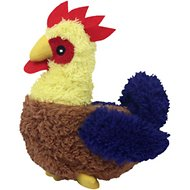 Multipet Look Who's Talking Rooster Plush Dog Toy