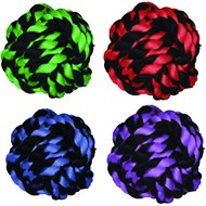 Multipet Nuts for Knots Ball Dog Toy, Medium
