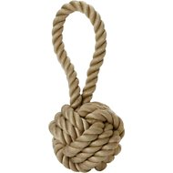 Multipet Nuts for Knots Heavy Duty Rope with Tug Dog Toy, Large