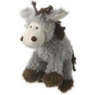 Multipet Mane Event Plush Dog Toy, Donkey