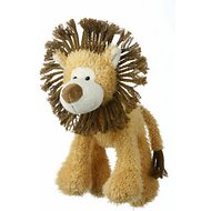 Multipet Mane Event Plush Dog Toy, Lion