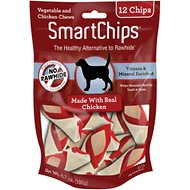 SmartBones SmartChips Chicken Chews Dog Treats, 12-pack