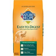 Nature's Recipe Easy-To-Digest Fish Meal & Potato Recipe Dry Dog Food, 4.5-lb bag