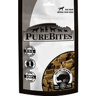 PureBites Bison Liver Freeze-Dried Dog Treats, 2.6-oz bag
