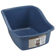 Petmate Hi-Back Litter Pan with Microban, Color Varies, Large