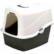 Petmate Deluxe Hooded Litter Pan Set with Microban, Jumbo