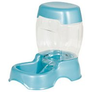 Petmate Pearl Pet Cafe Feeder, Blue, Small