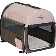 Petmate Portable Pet Home, Dark Taupe/Coffee Grounds Brown, Intermediate
