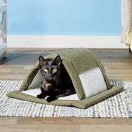 Aspen Pet Attract-o-Mat Pet Tunnel Sleeve Bed, Color Varies