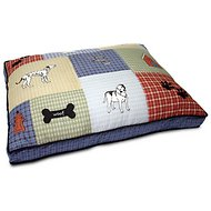 Aspen Pet Quilted Classic Applique Dog Bed