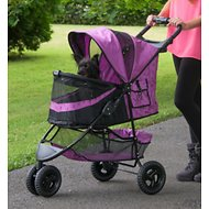 Pet Gear Special Edition No-Zip Pet Stroller, Orchid