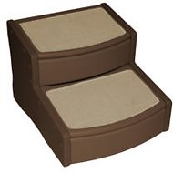 Pet Gear Easy Step II Extra Wide, Chocolate