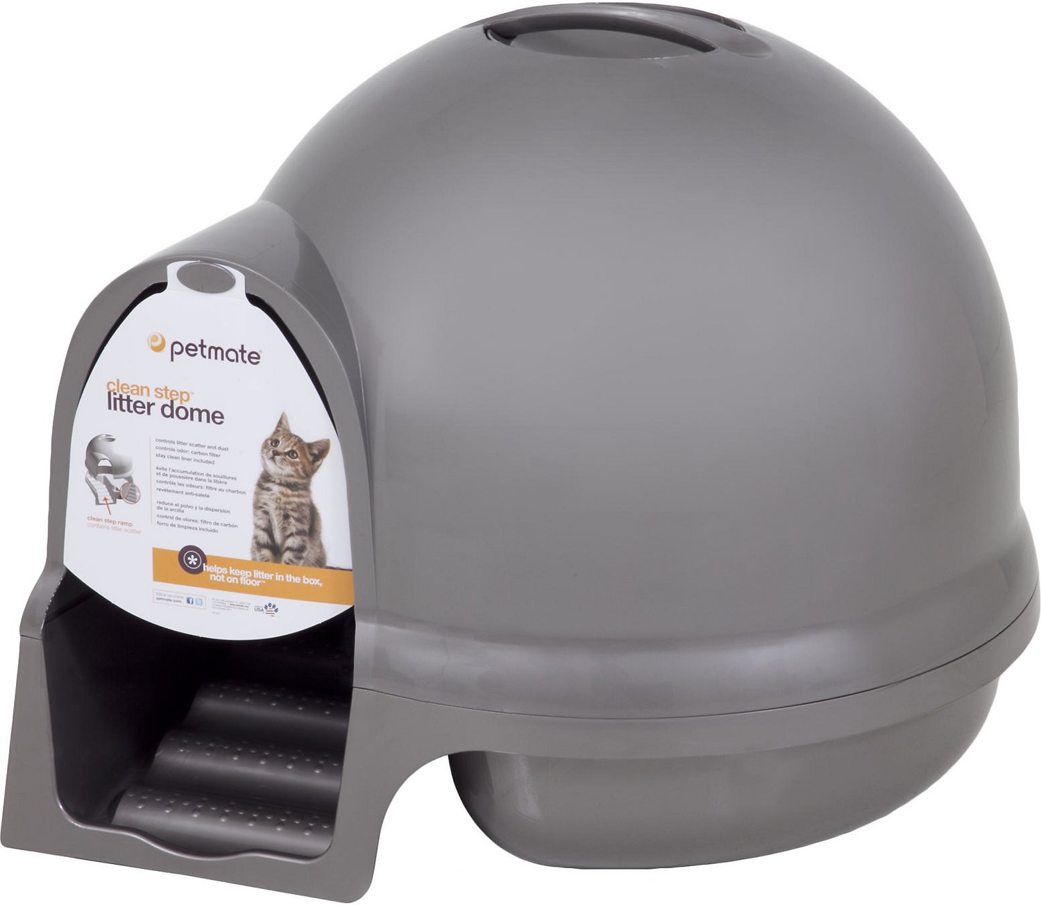 booda dome cleanstep litter box - Litter Boxes