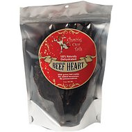 Chasing Our Tails Dehydrated Beef Heart Dog Treats, 5-oz bag