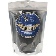 Chasing Our Tails Dehydrated Pork Liver Dog Treats, 5-oz bag