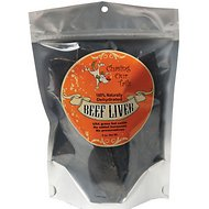 Chasing Our Tails Dehydrated Beef Liver Dog Treats, 5-oz bag