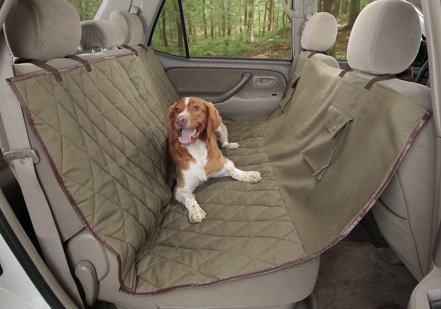 Solvit Deluxe Sta Put Hammock Seat Cover For Pets Chewy Com
