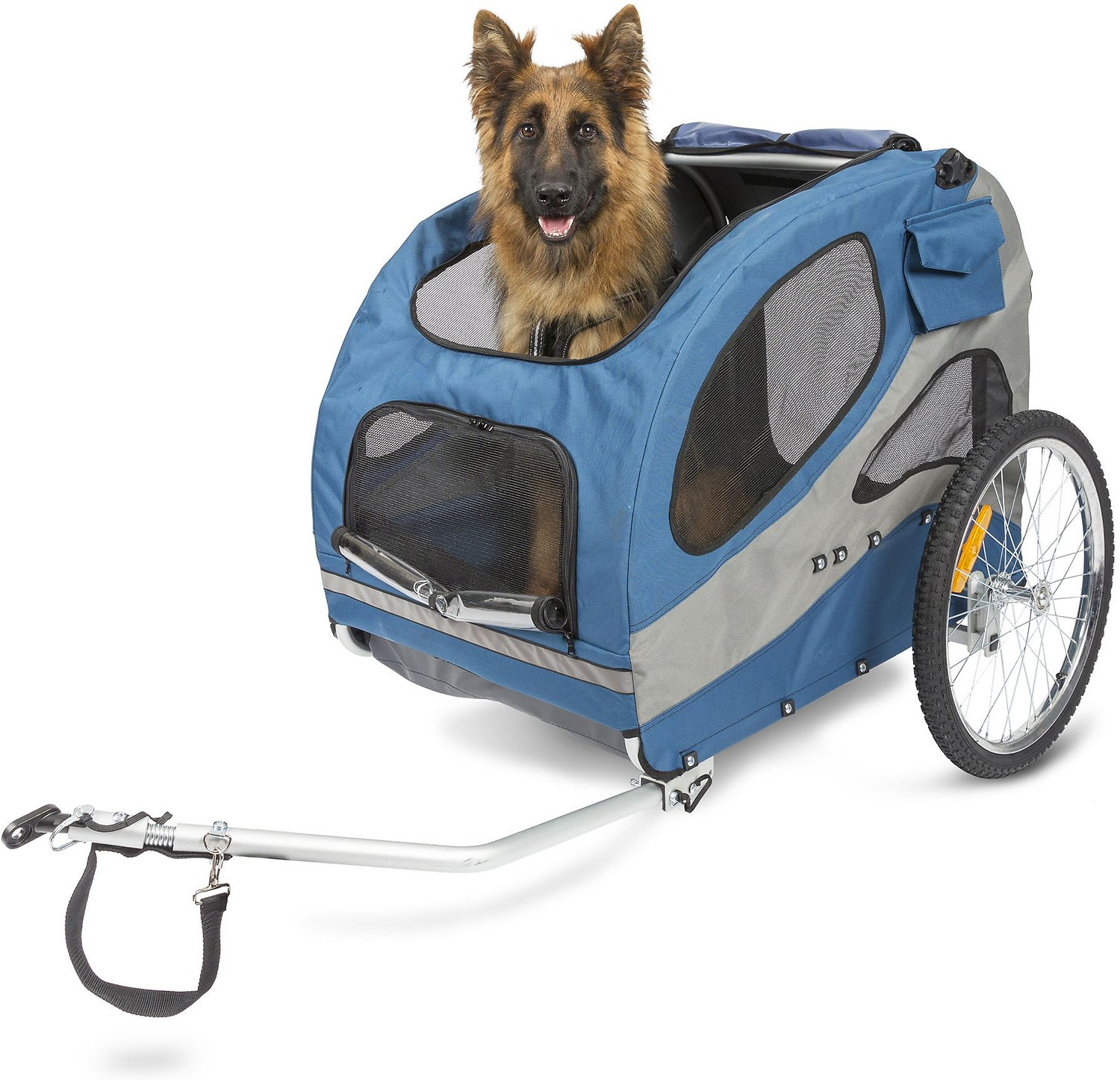 Solvit Houndabout Ii Aluminum Bicycle Trailer Large