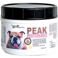 Pure & Simple Pet Peak Performance Dog Powder Supplement, 400g jar