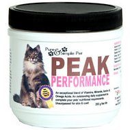 Pure & Simple Pet Peak Performance Cat Powder Supplement, 200g jar