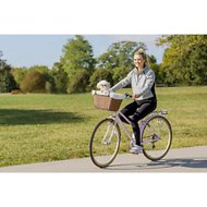 Solvit Tagalong Wicker Pet Bicycle Basket