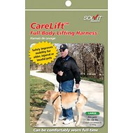 Solvit CareLift Full Front & Back Lifting Aid Mobility Dog Harness, Large Blue