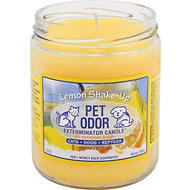 Pet Odor Exterminator Lemon Shake Up Deodorizing Candle, 13-oz jar