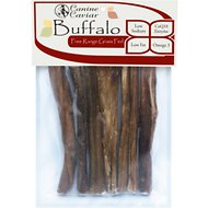 "Canine Caviar Buffalo Bully Stix 6"" Dog Treats, 7 pack"