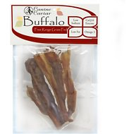 "Canine Caviar Buffalo Chews 6"" Dog Treats, 5-piece bag"