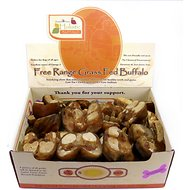 Canine Caviar Buffalo Shank Fillets Dog Treats, Big, case of 35