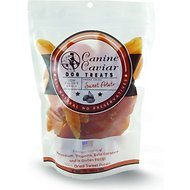 Canine Caviar Dried Sweet Potatoes Dog Treats, 12-oz bag