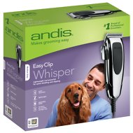 Andis EasyClip Whisper Adjustable Blade Pet Clipper Kit