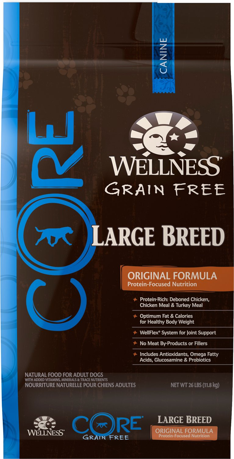 Wellness Core Grain Free Large Breed Formula Dry Dog Food