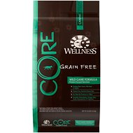 Wellness CORE Grain Free Wild Game Duck, Turkey, Boar & Rabbit Recipe Dry Dog Food, 26-lb bag
