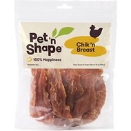 Pet 'n Shape Chik 'n Breast Dog Treats, 1-lb tub
