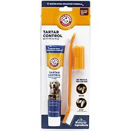Arm & Hammer Dental Advanced Care Tartar Control Toothpaste & Brush Set Kit for Dogs