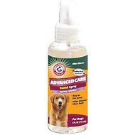 Arm & Hammer Dental Advanced Care Tartar Control Dental Spray for Dogs, 4-oz bottle